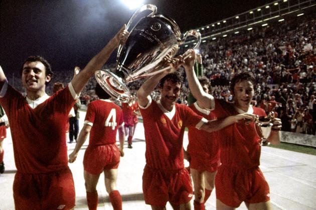 Soccer - European Cup - Final - Liverpool v Borussia Monchengladbach