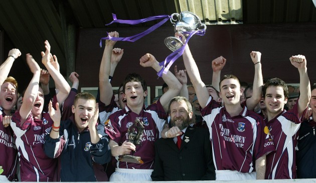 Galway team celebrate 7/5/2005