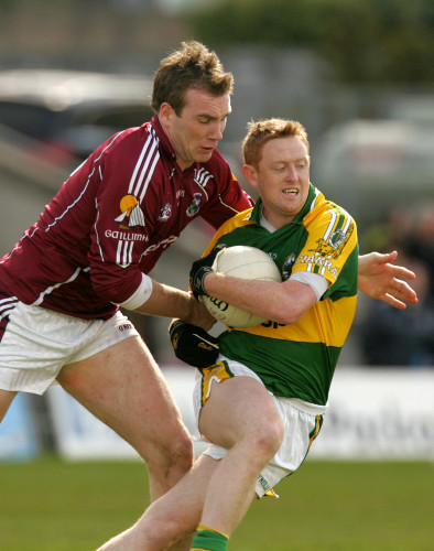 Barry Cullinane and Colm Cooper