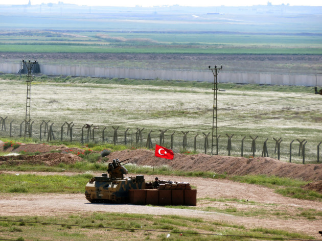 Turkey Syria YPG Crisis in The Border