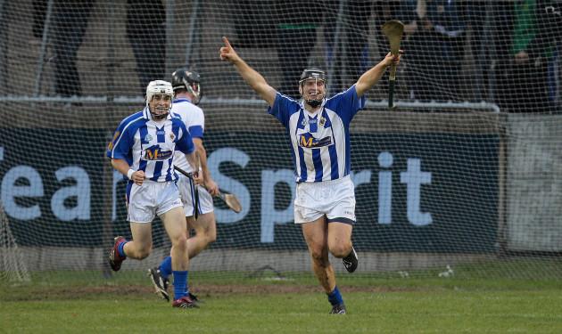 Conal Keaney celebrates their third goal