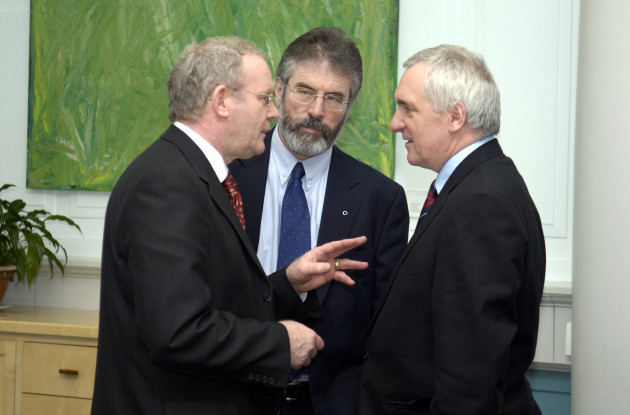 Martin McGuinness Northern Ireland Peace Process