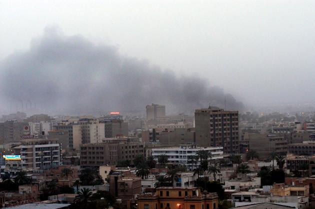 ABACA  Strikes on Baghdad