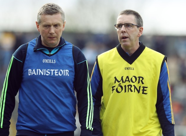 Gerry O'Connor and Donal Moloney