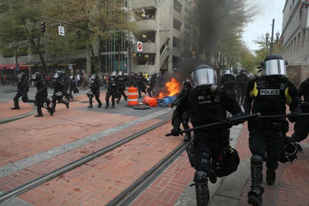 May Day US Portland