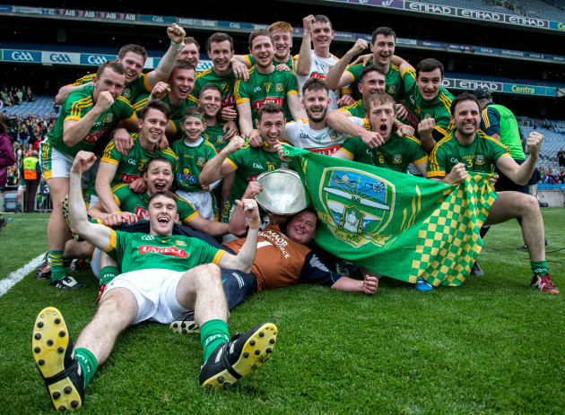 Meath Celebrate winning the Christy Ring Cup