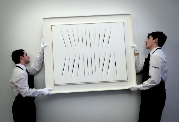 Contemporary art sales at Sotheby's - London