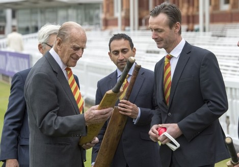 Royal visit to Lord's