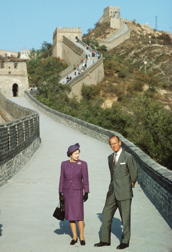 Royalty - Queen State Visit to China - Great Wall of China