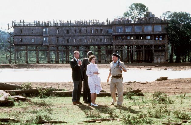 Royalty - Queen Tour of Kenya - Treetops Hotel