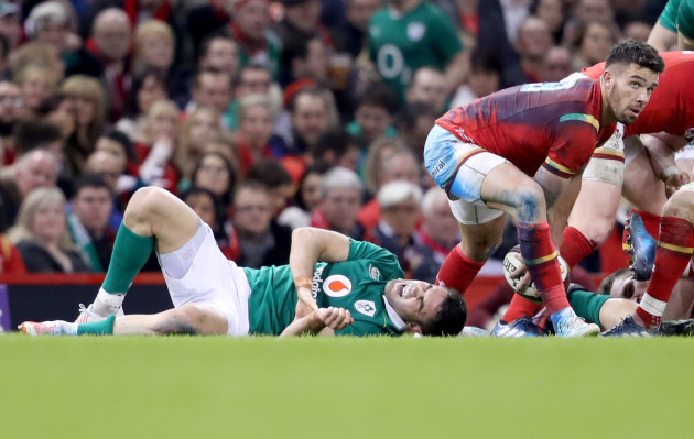 Conor Murray goes down injured