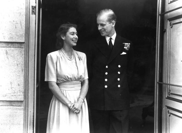 Royalty - Engagement of Princess Elizabeth and Lieut. Philip Mountbatten - London