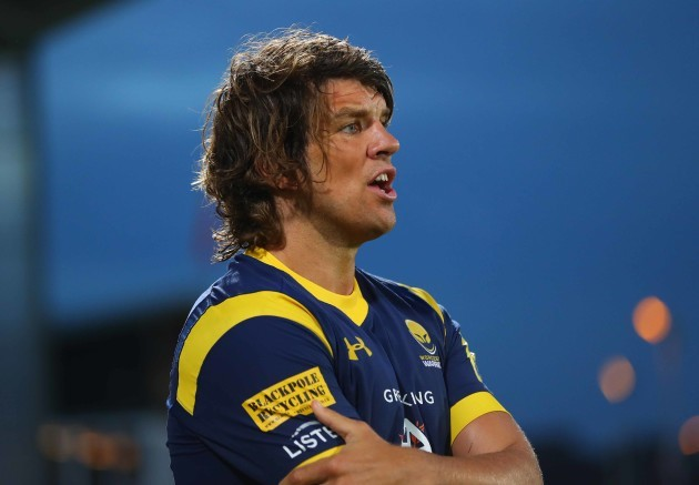 Worcester Warriors Donncha O'Callaghan