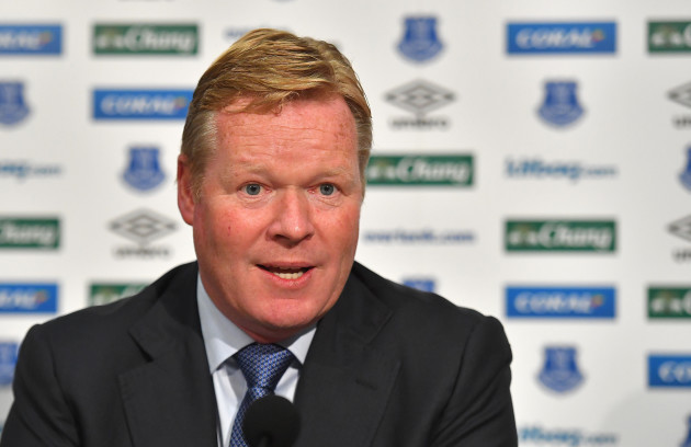 Ronald Koeman Press Conference
