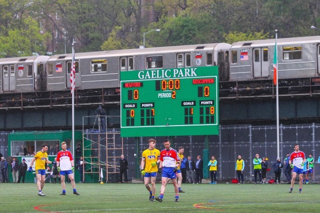 A view of the Gaelic Park