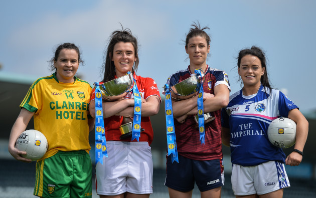 Lidl Ladies Football National League Division 1 & 2 Finals Captains Day