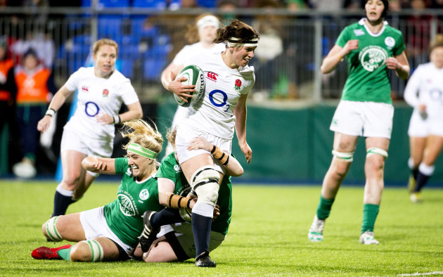Ireland Women v England Women - Womens 6 Nations - Donnybrook Stadium