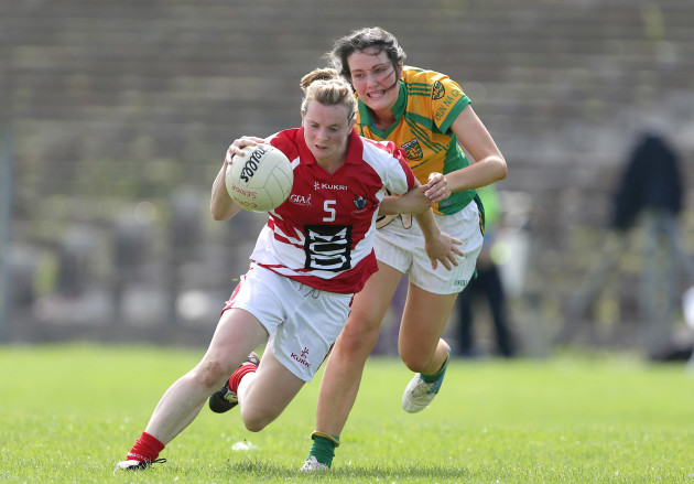 Briege Corkery with Emer Gallagher