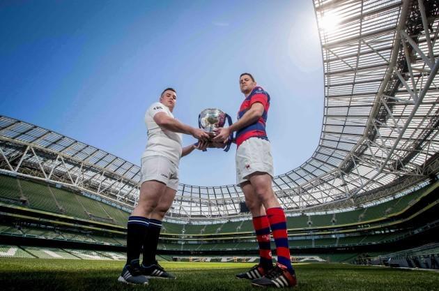 Gavin Duffy with Ben Reilly