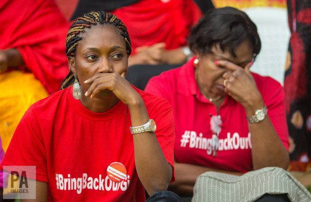 'Bring back our girls' rally in Nigeria