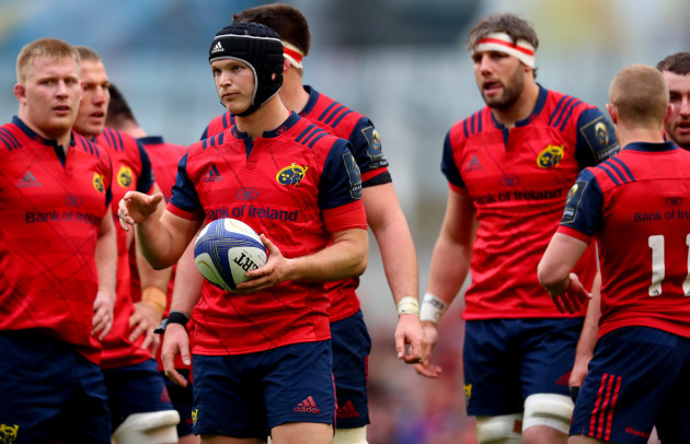 Tyler Bleyendaal emerges as a doubt for Munster's Pro12 semi