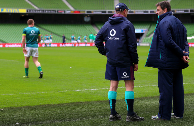 Joe Schmidt and David Nucifora