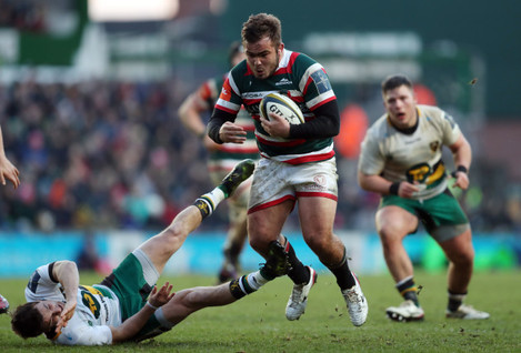 Leicester Tigers v Northampton Saints - Anglo-Welsh Cup - Welford Road