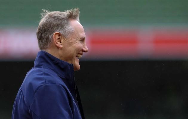 Ireland's head coach Joe Schmidt