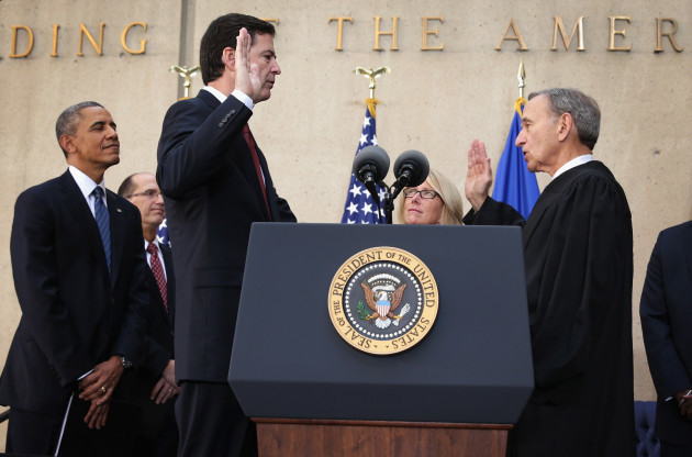 Comey Sworn-In As Director Of FBI