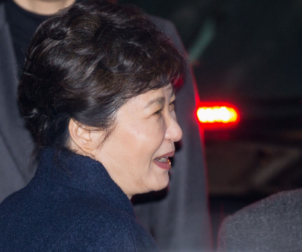South Korea - Impeached Park Geun-Hye Leaves Presidential Office