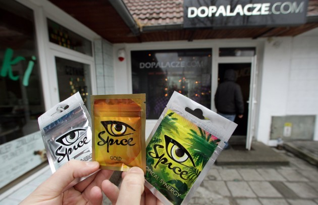 Herbal drug 'Spice' still sold in Poland