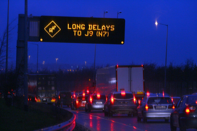 a64d77192d The worst time and place for accidents on the M50  The Red Cow junction on  a Wednesday evening
