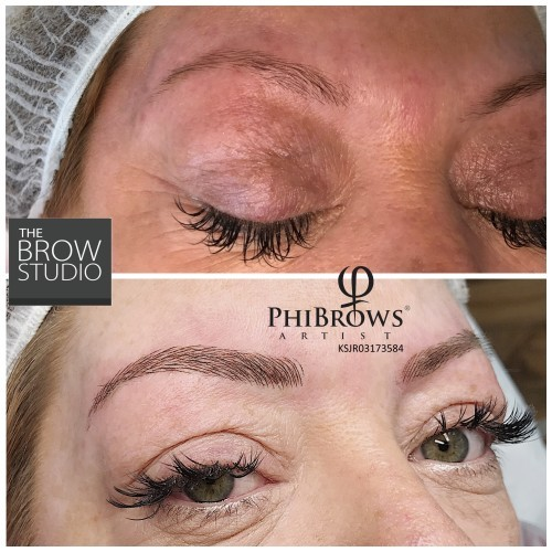 Warning about poorly trained eyebrow technicians leaving