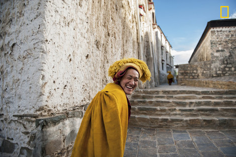 Tibetan's soul smile
