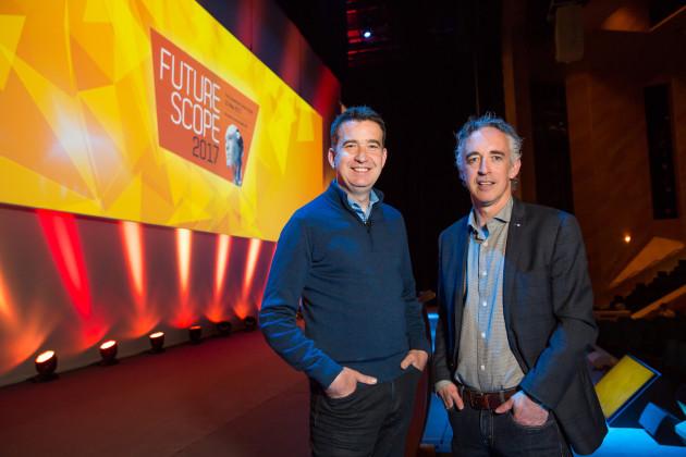 Mark Little and John Phelan, national director, HBAN