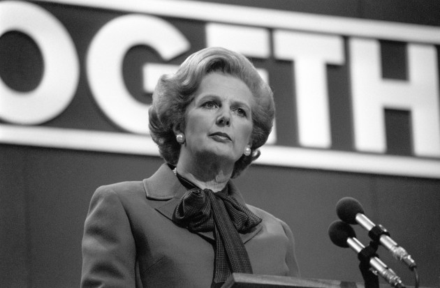Thatcher Closing Speech