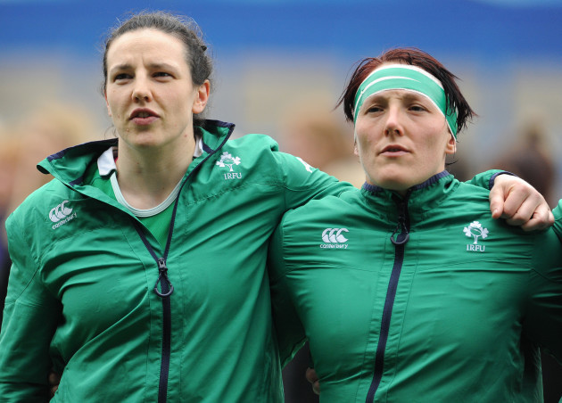 Paula Fitzpatrick and Lindsay Peat