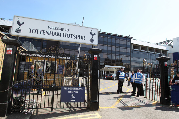 Tottenham Hotspur's Last Game at White Hart Lane Package