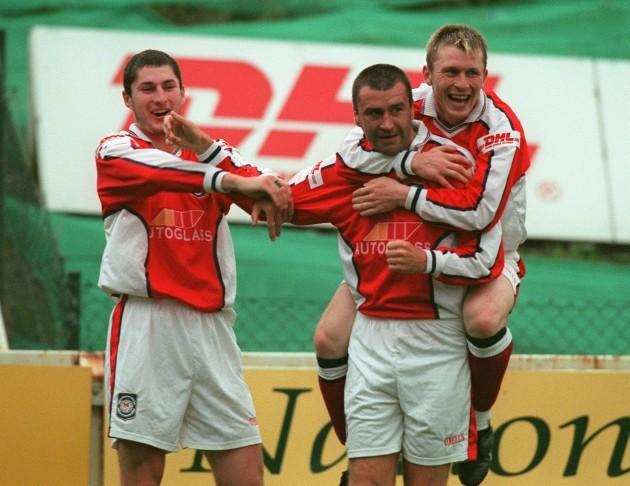 Colin Hawkins/Trevor Molloy/Ian Gilzean 13/8/1999
