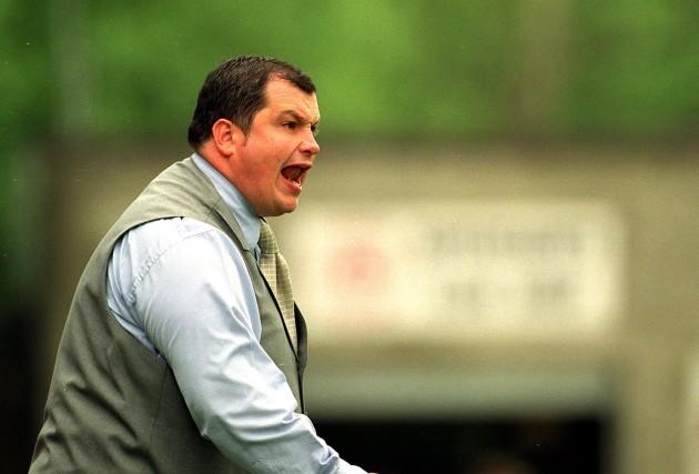 Manager Pat Dolan