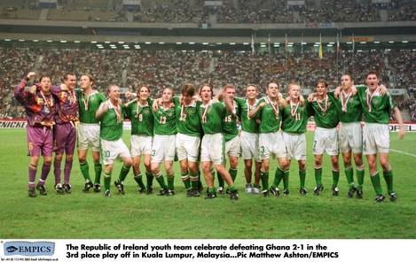 Soccer - World Youth Football Championships - Third Place Play off - Ghana v Ireland