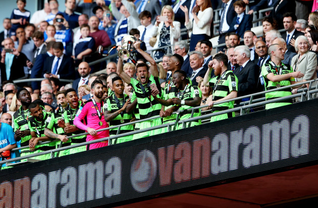 Tranmere Rovers v Forest Green Rovers - Vanarama National League - Play Off - Final - Wembley Stadium