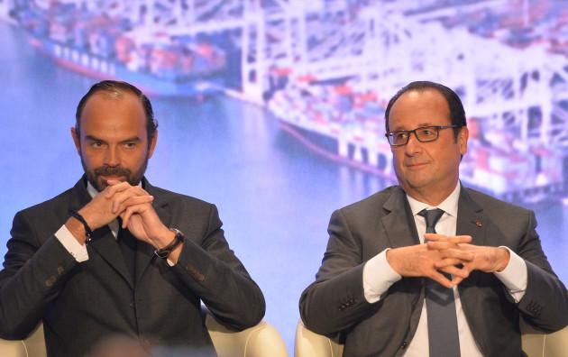 President Hollande Inaugurates ENSM Maritime School - Le Havre