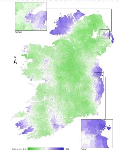 bladder cancer map