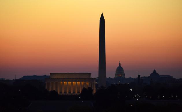 U.S.-WASHINGTON D.C.-SUNRISE