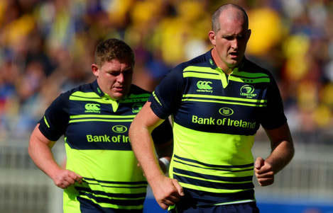Tadhg Furlong and Devin Toner