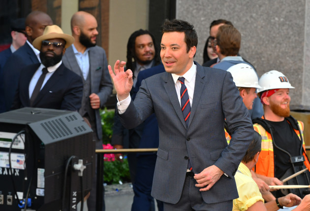 Entertainment: Jimmy Fallon Attraction Grand Opening
