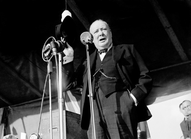 World War Two - Winston Churchill - Walthamstow Stadium, London