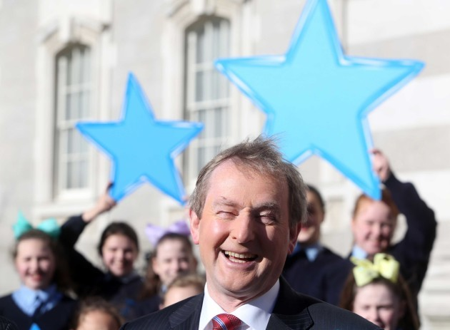File Photo ENDA KENNY pension