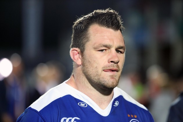 Cian Healy dejected after the game